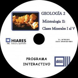 CD-ROM MINERALOGÍA II:CLASES MINERALES I A V. HIARES.