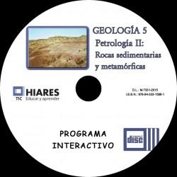 CD-ROM PETROLOGÍA II: ROCAS SEDIMENTARIAS Y METAMÓRFICAS. HIARES.