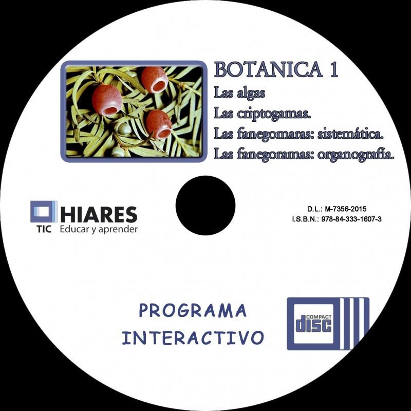 CD-ROM BOTÁNICA I: CRIPTÓGAMAS. FANERÓGAMAS: ORGANOGRAFÍA ...