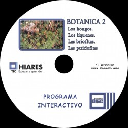 CD-ROM BOTÁNICA II: HONGOS. LÍQUENES. BRIÓFITAS. PTERIDÓFITAS. HIARES.