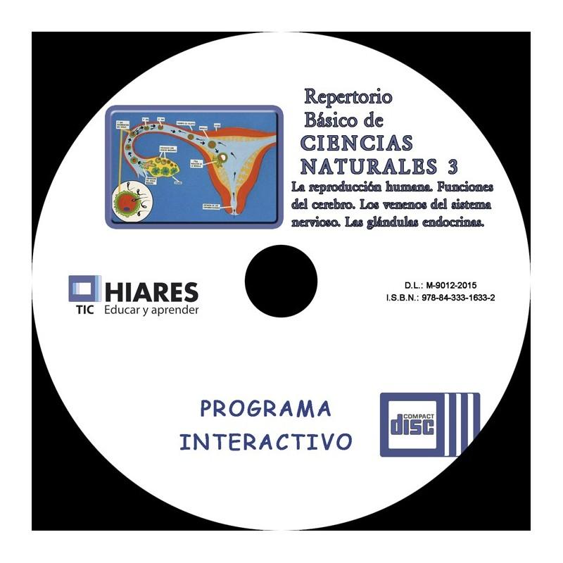CD-ROM PRIMARIA CIENCIAS NATURALES III .HIARES., compra online