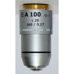 OBJETIVO ACROMÁTICO MOTIC EA 100 X
