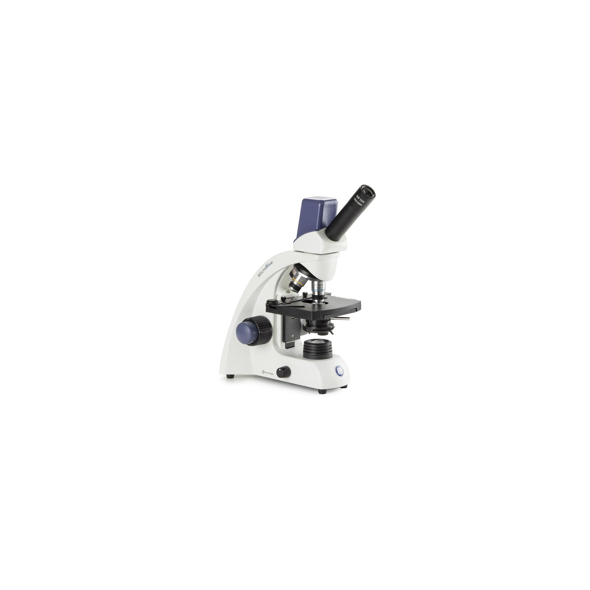 MICROSCOPIO DIGITAL MONOCULAR MICROBLUE MODELO 1155