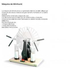 MAQUINA DE WIMSHURST