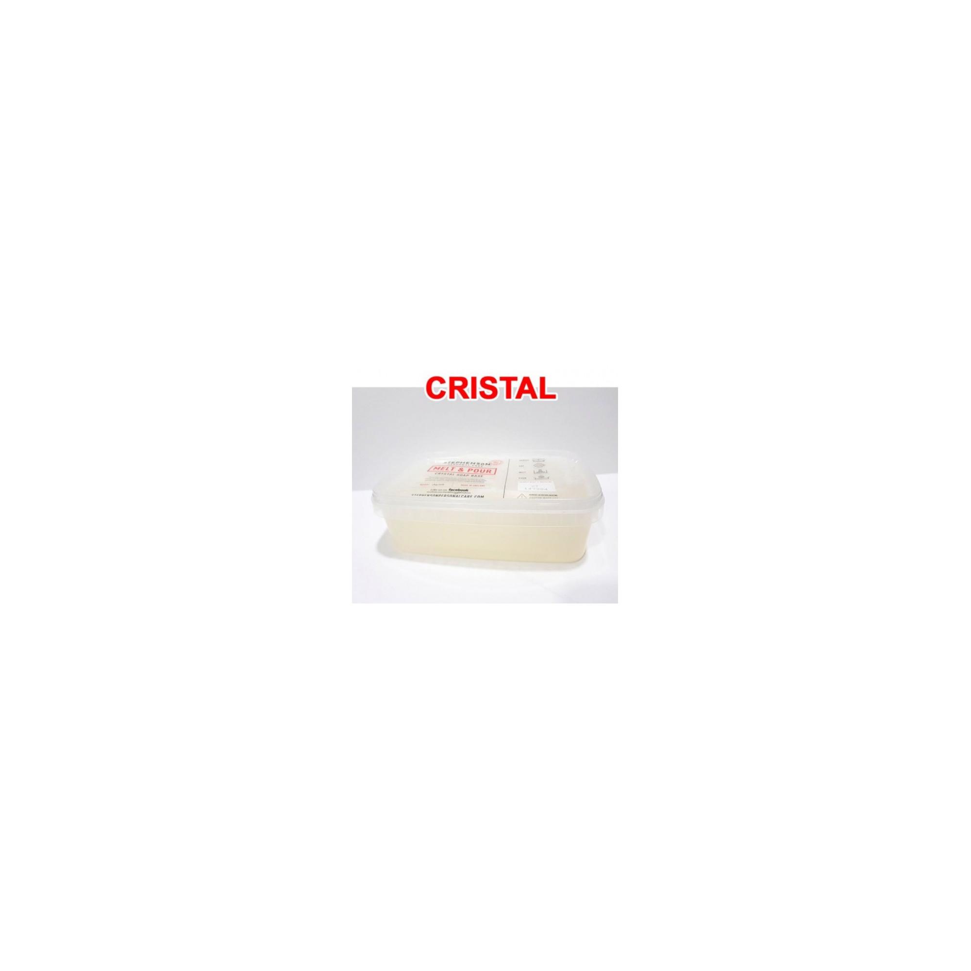 BASE JABÓN GLICERINA CRISTAL