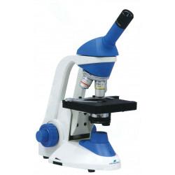 MICROSCOPIO MONOCULAR BLUE LINE 40X - 1000X