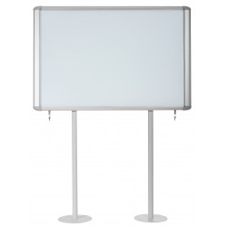 Vitrina Magnética pared mastervision para intemperie