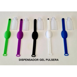 PULSERA DISPENSADORA DE GEL